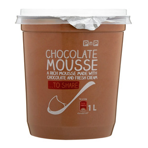 PnP Chocolate Mousse 1L