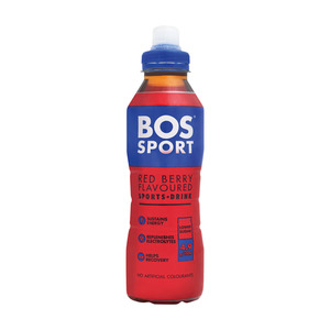 Bos Sport Drink Red Berry 500ml