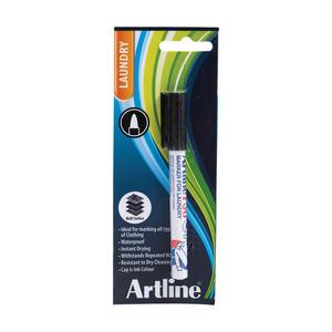 Artline Black Laundry Marker EK750