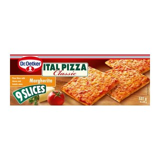 Ital Pizza Cheese And Tomato Pizza Slices