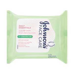 Johnsons Daily Face Wipes 25