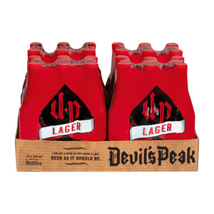 Devils Peak Lager 340ml x 24