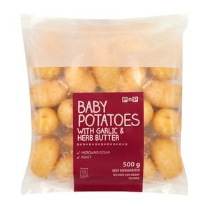Pnp Baby Potato&flavoured Butter 600g