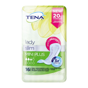 Tena Lady Mini Incontinence 16ea