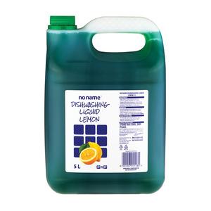 No Name Lemon Concentrated Dishwashing Liquid 5l