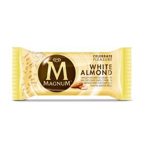 Ola Magnum Ice Cream White Almond 110ml
