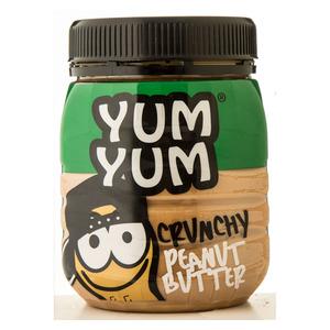 Yum Yum Crunchy Peanut Butter 400g