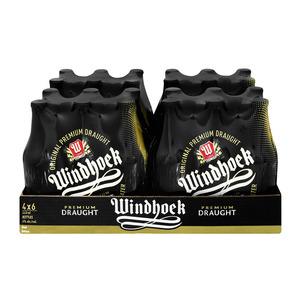 Windhoek Draught NRB 440 ml x 24