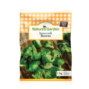 Natures Garden Broccoli Florets 1kg