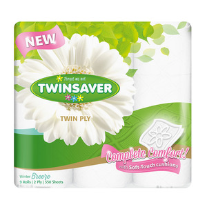 Twinsaver 2 Ply Luxury Winter Toilet   Paper 9ea