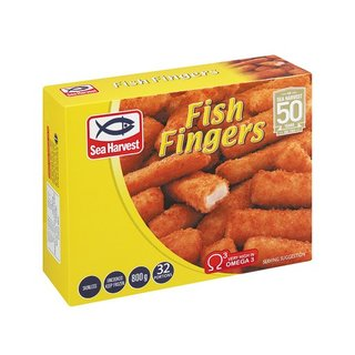 Sea Harvest Fish Fingers 800g x 12