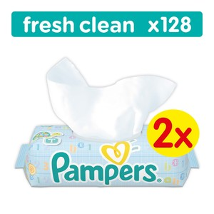 Pampers Wipes Fresh Economy 128s