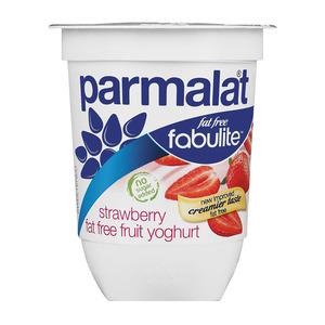 Fabulite Fat Free Strawberry Fruit Yoghurt 175g
