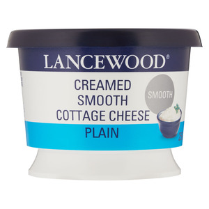 Lancewood Smooth Cream Cottage Cheese 25 0g