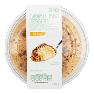 Pnp Caramel Peppermint Pudding 430g