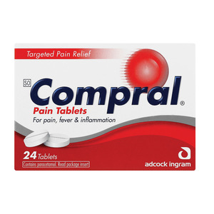 Compral Pain Relief Tablets 24ea