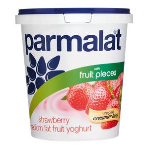 Parmalat Low Fat Strawberry Fruit Yoghurt 1kg