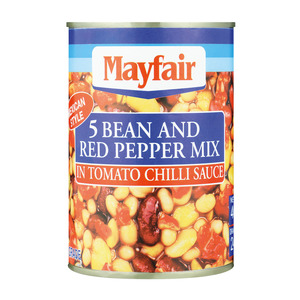 Mayfair 5 Beans Tomato And Red Pepper 40 0g