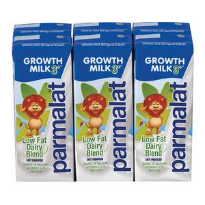 Parmalat UHT Growth Milk 3+ 200ml x 6