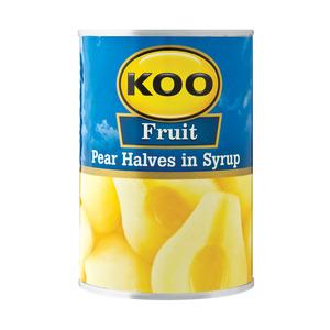 Koo Choice Grade Pear Halves 410g