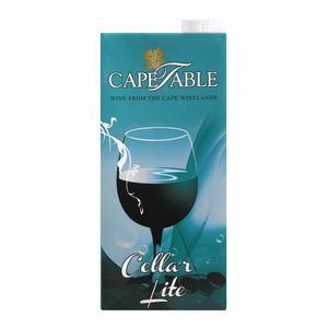Cape Table Lite White Wine 1 Litre