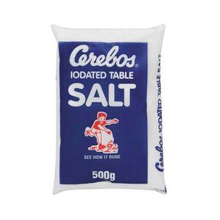 Cerebos Iodated Table Salt 500g x 40