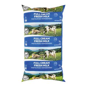 Full Cream Milk Sachet 1l x 20