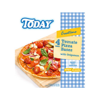 Today Frozen Pizza Bases 4ea x 8