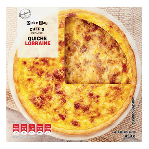 PnP Bacon And Cheese Quiche 450 GR