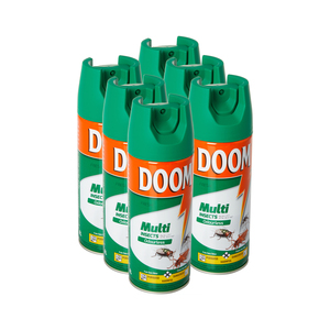 Doom Odourless Insecticide 300ml x 6