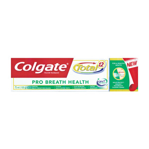 Colgate T/thpaste Pro Breath Health 75ml