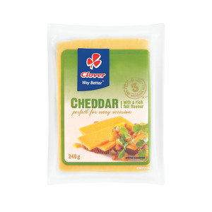 Clover Cheddar Vacuum Packed 240g