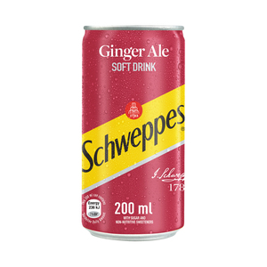 Schweppes Ginger Ale Can 200ml