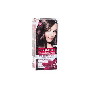 Garnier Color Sensation Permanent Hair Color 4.0 Deep Brown