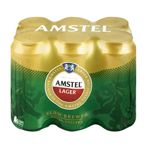 Amstel Lager Can 440 ml x 6