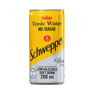 Schweppes Tonic Water Can 200ml