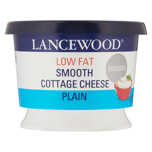 Lancewood Low Fat Smooth Plain Cottage Cheese 250g