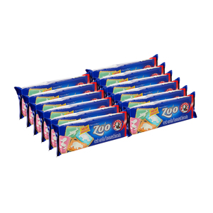 Bakers Kidz Zone Iced Zoo Biscuits 150g x 12