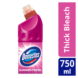 Domestos Thick Bleach Summer Fresh 750ml