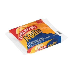 Melrose Melts Proc C/slices S/milk 200gr