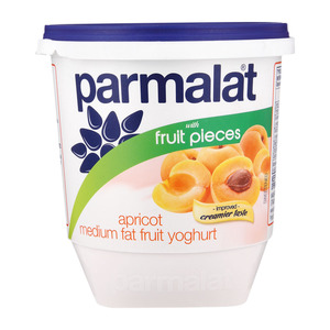 Parmalat Low Fat Apricot Fruit Yoghurt 1kg