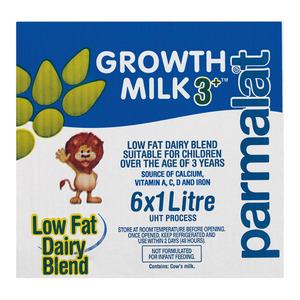 Parmalat Uht Growth Milk 3+ 1l x 6