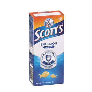 Scott's Regular Vitamin A & D S Upplement 100ml