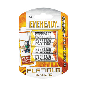 Eveready Alkaline Plus Aa 4p 4ea
