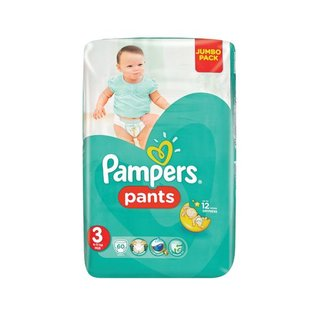 Pampers Disp Pants Midi Jumbo Pack 60ea