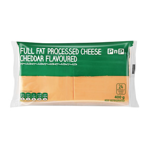 PnP Full Fat Processed Cheese Cheddar Slices