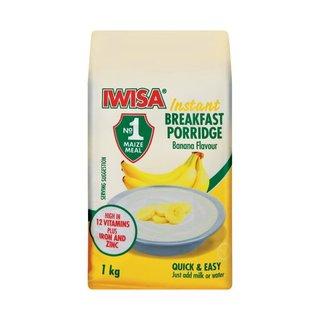 Iwisa Instant B/fast Porridge Banana 1kg