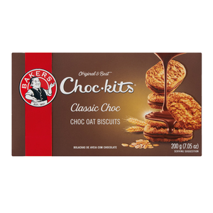 Bakers Choc Kits Biscuits 200g