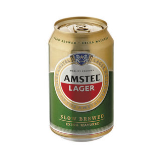 Amstel Lager Can 330 Ml X 6
