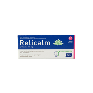 Relicalm Tablets 20ea